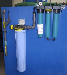 Detail Example A: activated carbon filter and reverse osmosis unit