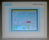 Touch panel - facility monitor
